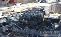 Tiểu thương lâm cảnh trắng tay khi cháy chợ trung tâm huyện