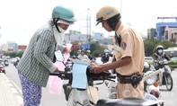 Từ ngày 1-7, tăng mức phạt các lỗi vi phạm giao thông đối với xe máy