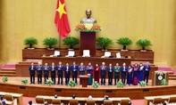 Công bố người đứng đầu các cơ quan của Quốc hội
