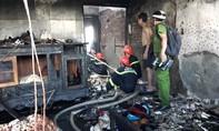 Cháy cơ sở vàng mã, 2 trẻ em tử vong