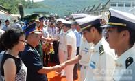 Tàu huấn luyện Nhật Bản cập cảng Tiên Sa sau hành trình 25.000 hải lý