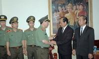 Lãnh đạo Bộ Công an viếng đồng chí Samane Vignaket