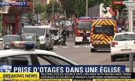 Cảnh sát Pháp tiêu diệt 2 kẻ bắt cóc, giết con tin trong nhà thờ