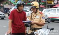 Những trường hợp CSGT được dừng xe người tham gia giao thông