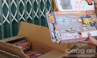 Bắt giữ lô hàng đồ chơi súng nhựa cho trẻ em có nguồn gốc Trung Quốc