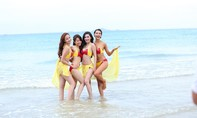 Chiêm ngưỡng nhan sắc thí sinh 'The Face' trong trang phục bikini