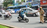 Nhiều trường hợp vi phạm luật giao thông bị lập biên bản theo Nghị định 46