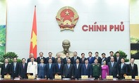 Trao quyết định bổ nhiệm của Chủ tịch nước cho các thành viên Chính phủ