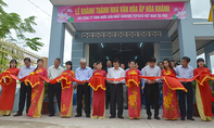Công ty Pepsico Việt Nam trao tặng nhà văn hóa ở Đồng Tháp