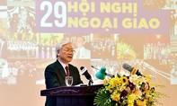 Tổng Bí thư Nguyễn Phú Trọng: Thành bại của ngoại giao tùy thuộc vào thực lực và vị thế