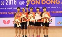 Chung kết kịch tính tại giải bóng bàn quốc tế Cây vợt vàng - Cúp Tôn Đông Á
