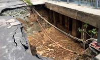 Đường Trường Sa sụp lún nghiêm trọng lỗi do nhà thầu Trung Quốc