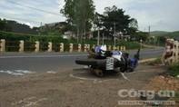 Xe khách tông xe máy, 1 người bị thương nặng
