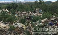 Phát hiện thêm 60 tấn rác của Formosa đổ trộm trong một mỏ đá