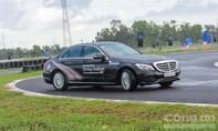 Lái thử gần 30 mẫu Mercedes – Benz tại trường đua Happy Land