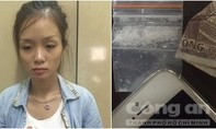 Nữ quái 9X mua ma túy giấu trong tờ tiền về sử dụng cùng bạn trai