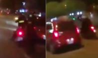 CSCĐ truy đuổi ô tô gây tai nạn như phim