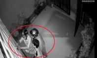 Clip 3 tên trộm phá cửa nhà dân lúc rạng sáng ở Sài Gòn
