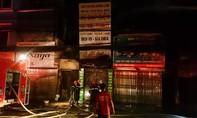Cháy lớn thiêu rụi nhiều tài sản giá trị ở cửa hàng kinh doanh xe đạp điện