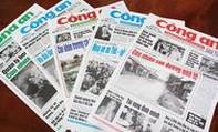 Nội dung chính báo CATP ngày 12-9