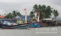 Các tàu cá ngư dân Quảng Nam đang vào trú ẩn