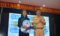 Khẩu hiệu của nữ sinh Bắc Kạn 'Doremon với An toàn giao thông' đoạt giải