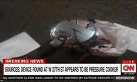 Cận cảnh hiện trường nổ kinh hoàng tại New York