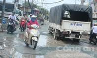Con đường quanh năm 'đau khổ' ở Sài Gòn