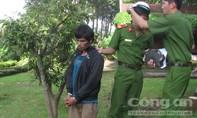 Cảnh sát cơ động tóm gọn tên cướp trong công viên