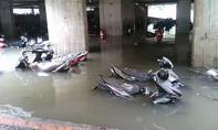 Hơn 1.000 xe máy 'chết chìm' trong hầm giữ xe ở Sài Gòn