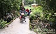 Nam thanh niên tử vong khi qua cầu ngập trong cơn mưa lớn