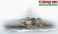 Infographic: Lá chắn tên lửa Aegis trên tàu USS John S. McCain