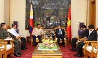 Bộ trưởng Tô Lâm tiếp Cố vấn Hội đồng An ninh quốc gia Philippines