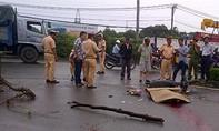 Công an Q.4 tìm nhân chứng vụ tai nạn trước cảng Khánh Hội