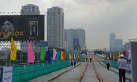Chính thức hợp long cầu vượt sông Sài Gòn của tuyến metro số 1