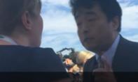 Video: An ninh Trung Quốc thô lỗ quát nạt nhân viên Nhà Trắng tại Hàng Châu