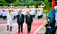 Chủ tịch nước Trần Đại Quang hội đàm với Tổng thống Pháp François Hollande