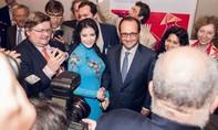 Lý Nhã Kỳ vinh dự được tiếp kiến Tổng thống Pháp