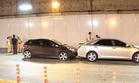 Tai nạn liên hoàn 3 ô tô trong hầm Thủ Thiêm