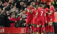 Liverpool đánh bại Manchester City trong trận cầu đầu năm mới