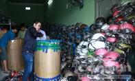 Tiếp tục phát hiện cơ sở kinh doanh giả mạo hàng nghìn nón Sơn