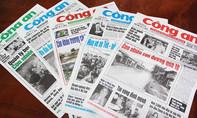 Nội dung chính báo Công an TP.HCM ngày 12-1-2017
