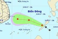 Áp thấp nhiệt đới vào Biển Đông, nhiều nơi nhiệt độ giảm