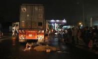 Container cán chết nam công nhân, người vợ trẻ khóc thảm thương