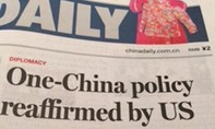 """Tờ China Daily dọa """"thẳng tay"""" với Trump nếu ông đi ngược chính sách 'Một Trung Quốc'"""