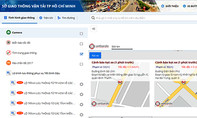 Người Sài Gòn lên mạng tìm đường bị kẹt xe