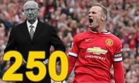 Rooney chính thức trở thành chân sút vĩ đại nhất Manchester United