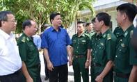Bí thư Đinh La Thăng thăm các đơn vị quân đội tại tỉnh Tây Ninh