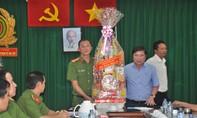 Chủ tịch UBND TP Nguyễn Thành Phong thăm, chúc Tết các đơn vị