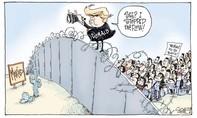 Trump ký sắc lệnh xây tường dọc biên giới Mexico